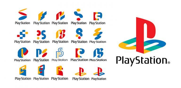 """<span  dir=""""rtl"""">تصميم شعار PlayStation</span>"""
